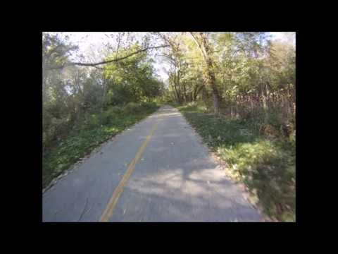 Trail View:  I&M Canal and Centennial Trail to Joliet