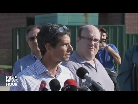 WATCH: Officials hold news conference on explosions at Harve