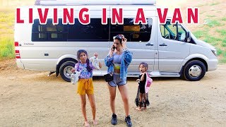 VAN LIFE: Living In A Van With A Family Of 6 | Familia  Diamond