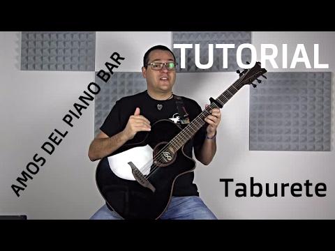 C mo tocar amos del piano bar de taburete en la guitarra for Taburete para tocar guitarra