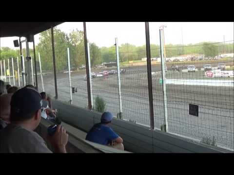 LMSS TOURING SERIES HEAT 2 RAPID SPEEDWAY JUNE 10,2016