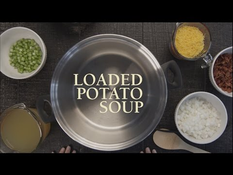 Lovina's Amish Kitchen Loaded Potato Soup Recipe