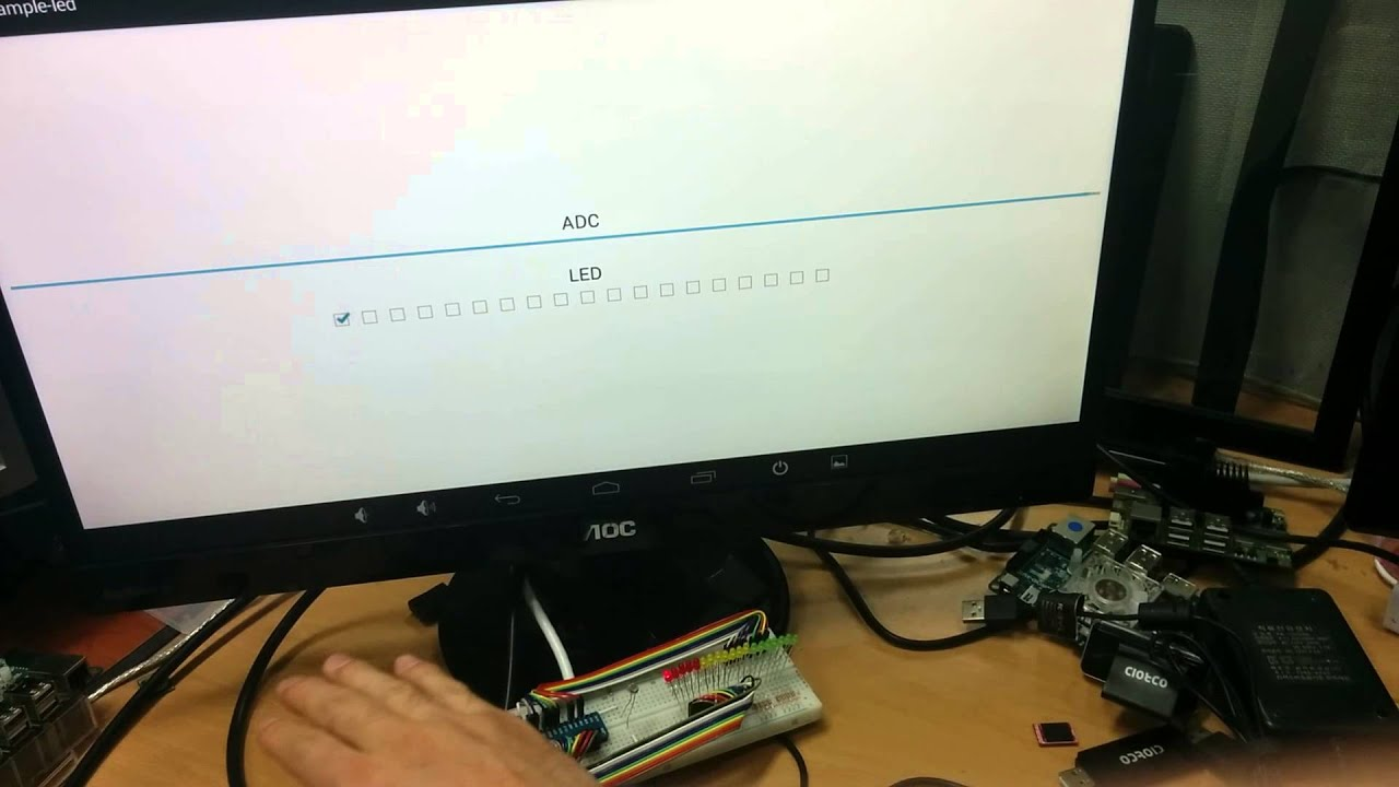 wiringPi sample code / Android / new: i2c, spi, serial - ODROID