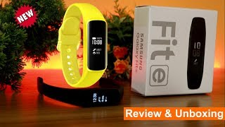 Samsung Galaxy Fit e   Review & Unboxing - Cheap & Best Fitness Band