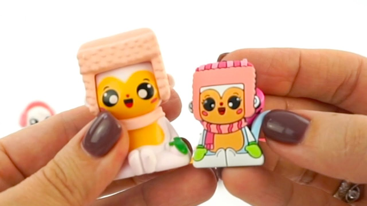 Сюрпризы и игрушки из серии Маджики снежные друзья
