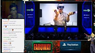 Playstation VR Tech Demo and Games - Playstation Experience 2015 - PSX 2015 - REACTION!