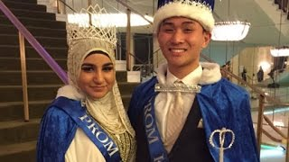 Teen Girls Wear Hijabs To Help Their Muslim Friend Win Prom Queen
