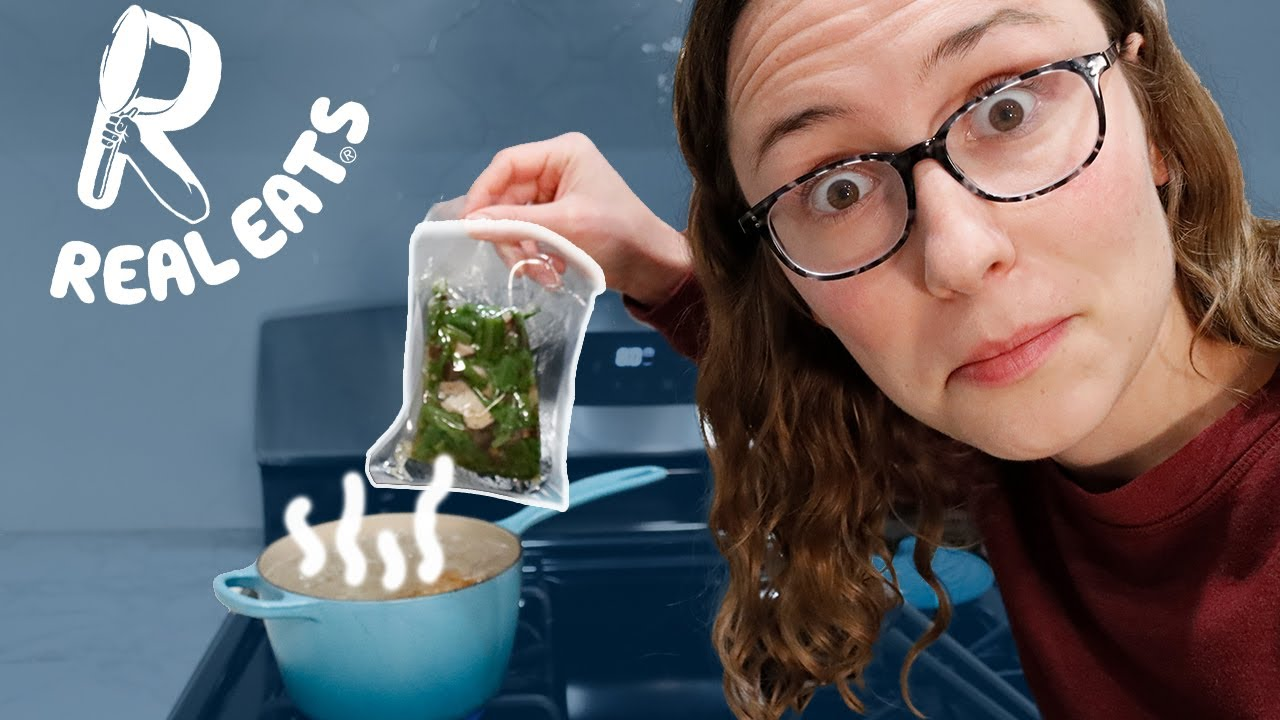 Download Plastic Bag Cooking??? | Real Eats Review