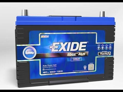 Exide AGM Batteries