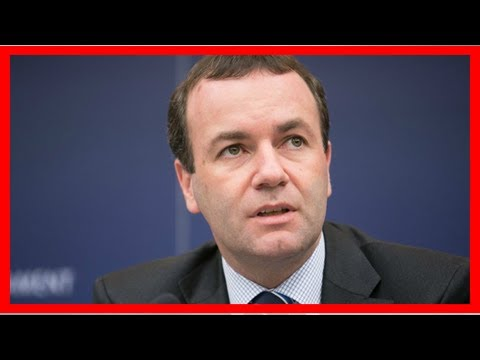 GREAT US - NEWS - Manfred weber optimistic after meeting with theresa may