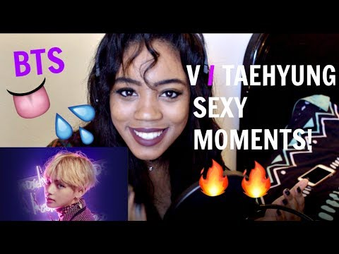 BTS V SEXY MOMENTS REACTION
