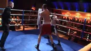 Unlicensed Boxing - Fighter Disqualified for Kicking!