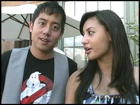 Allen Evangelista and Francia Raisa talk about BOO, a short film directed by David Henrie!