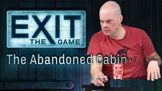 Exit The Abandoned Cabin - SPOILERS Full Board Game Play Through