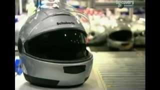 Мотошлемы - Как их делают(http://minsk-scooter.by - Мотошлемы - Фрагмент передачи