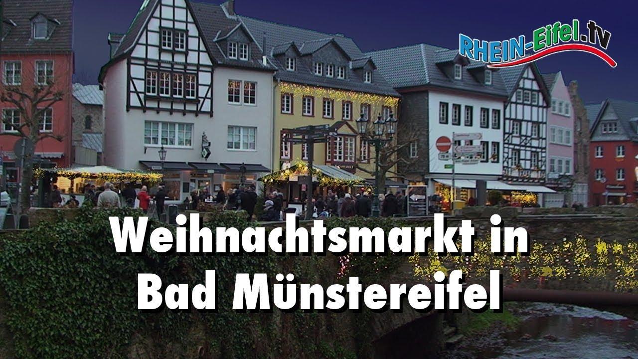 Münster Weihnachtsmarkt öffnungszeiten.Weihnachtsmarkt Bad Münstereifel Rhein Eifel Tv