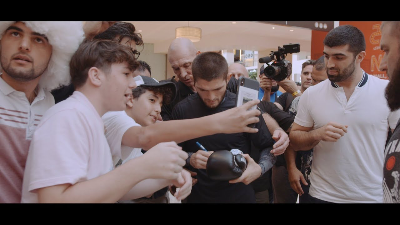 "Anatomy of UFC 242 - Khabib Nurmagomedov vs Dustin Poirier: Episode 2 ""Fighters and Fans Meet&q"