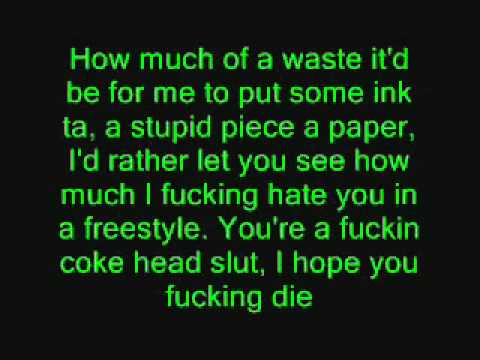 Eminem - Puke [Lyrics]
