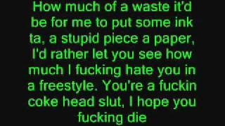 Eminem - Puke [Lyrics]