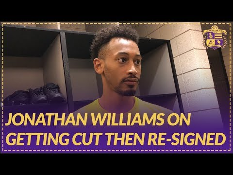 Lakers Nation Post Game: Jonathan Williams Talks About Getting Cut then Re-signed by the Lakers