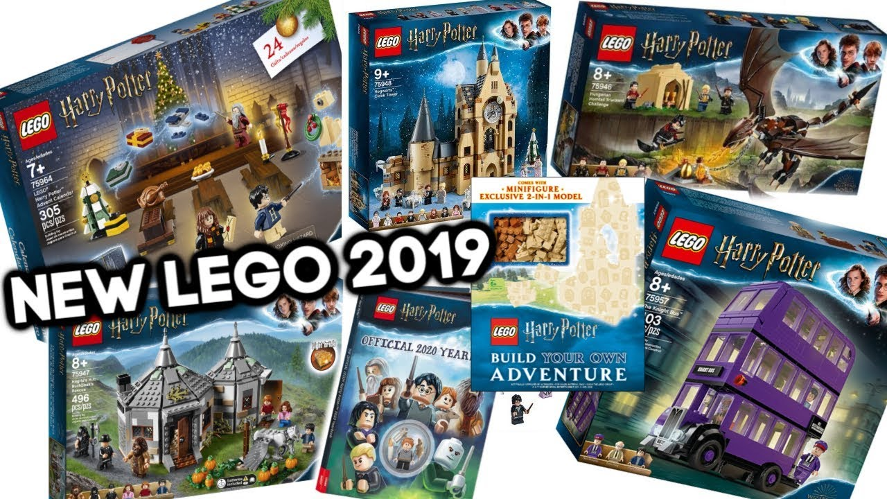 Harry Potter Advent Calendar.New Harry Potter Lego Sets Advent Calendar 2019