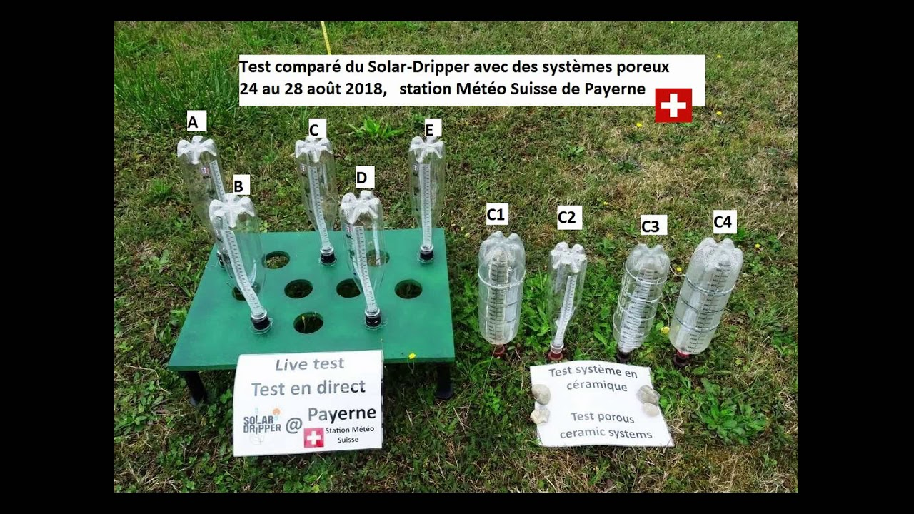 Arrosage Automatique Goutte À Goutte Avec Bouteille Plastique arrosage automatique goutte à goutte solaire solar-dripper ®