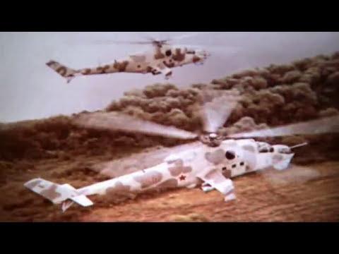 Mil Mi-24. Soviet Army