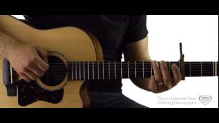 In Color - Guitar Lesson and Tutorial - Jamey Johnson