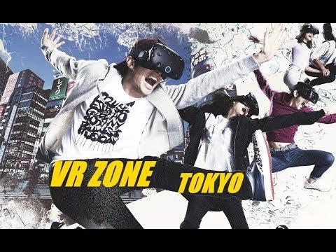 VR ZONE TOKYO | MARIO KART VR, DRAGON BALL VR & MORE!!! (VIVE)