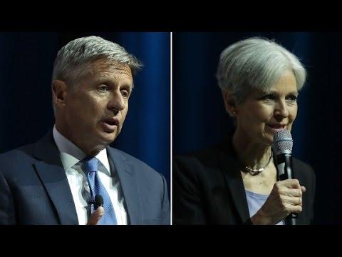 Johnson, Stein fail to qualify for first debate