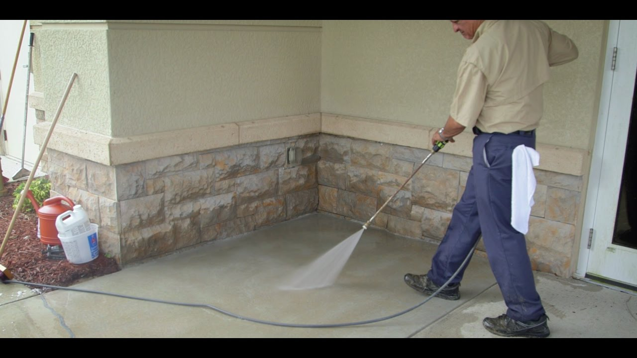 Concrete Surfaces Prep Sherwin Williams Youtube