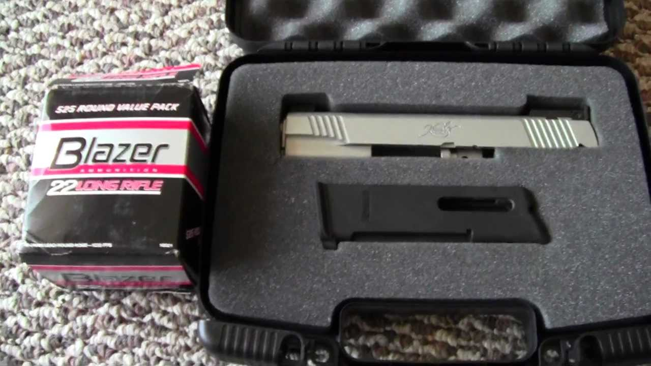 try cci blazer 22lr for your 1911 conversion kit youtube