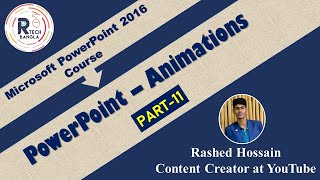 wie man eine animation erstellen, Effekte in PowerPoint - | | - Teil-11 || R-TecH BangLa
