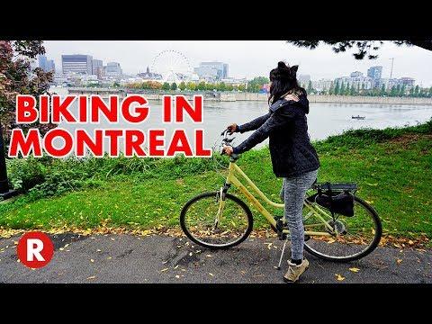 Beautiful Bike Tour In Montreal, Canada // HI Montreal // GoPro