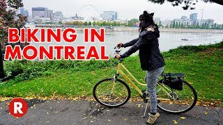 Beautiful Bike Tour in Montreal, Canada // HI Montreal // GoPro