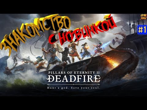 Pillars of Eternity II: Deadfire - НОВИНКА! Знакомство! #1 фентези rpg изометрия Эора