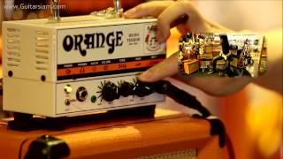 Video Orange's Micro Terror guitar amplifier download MP3, 3GP, MP4, WEBM, AVI, FLV November 2017