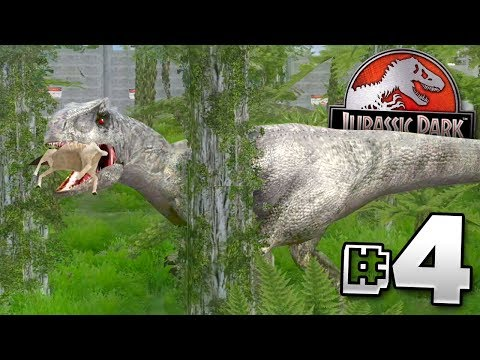 Download Youtube: Indominus Rex Enclosure! - Jurassic Park Operation Genesis | Ep4
