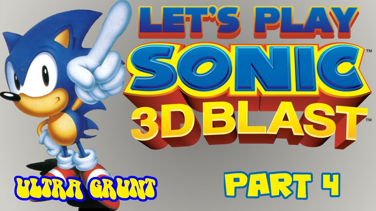 Let's Play Sonic 3D Blast - #4: The awesome snow level
