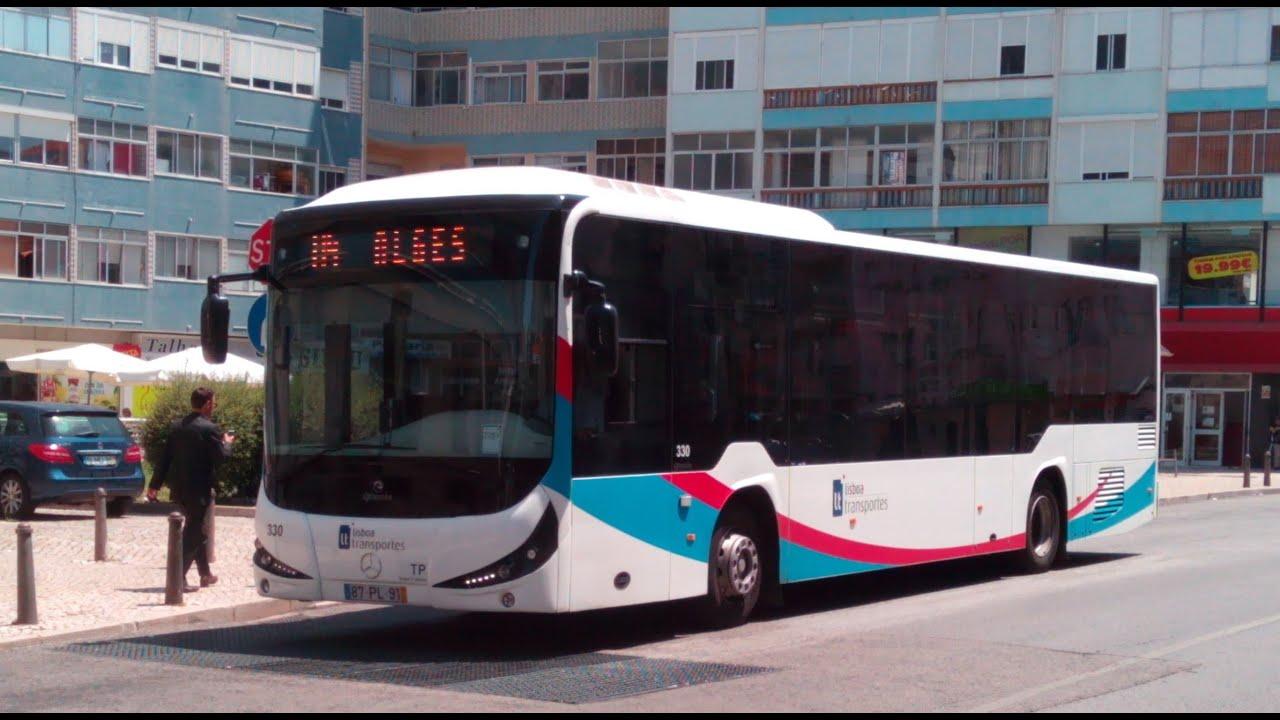 Lisboa transportes autocarros mercedes benz oc 500 le for Mercedes benz oc