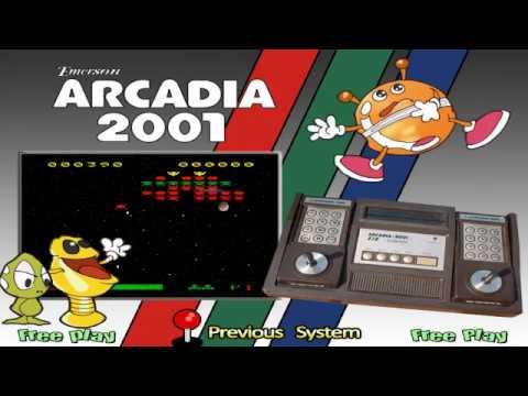 Emerson Arcadia 2001 Games List