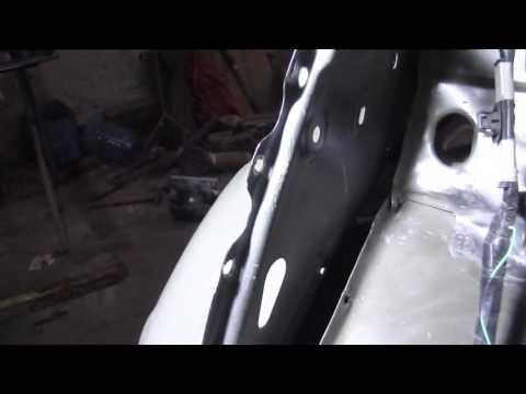 ТОЙОТА КОРОЛЛА ремонт крыла отличие деталей видео 15