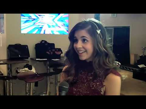 Interview with Carly Rose Sonenclar X-Factor 2012