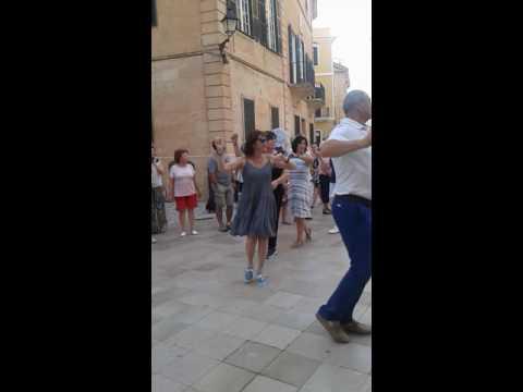 Trobada de Ball Menorquí a Ciutadella - Fandango