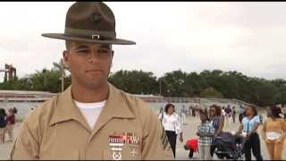 Marine Corps Boot Camp-DI outtakes Parris Island