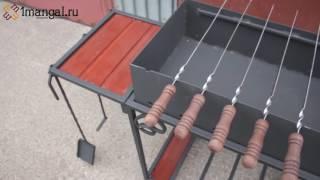 Профессиональный мангал для дачи на колесиках ММ22М(, 2017-03-04T13:40:50.000Z)