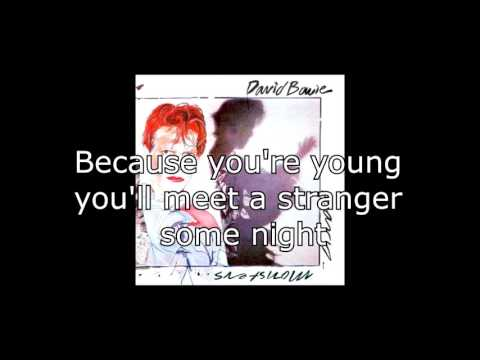 Because You're Young | David Bowie + Lyrics