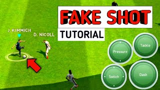 How to perform fake rabona skills pes 2019 mobile
