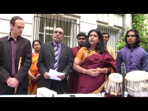 Independence Day celebrations at the Embassy of India in Paris, August 15th 2015