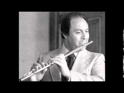 C.P.E. Bach Flute Concerto in D minor, Jean-Pierre Rampal